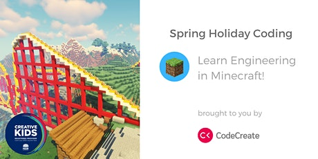 Online Holiday Coding: Learn Engineering with Minecraft! tickets