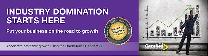 Scaling Up Business Growth Workshop - Virtual/Melbourne - 23 November 2021 image