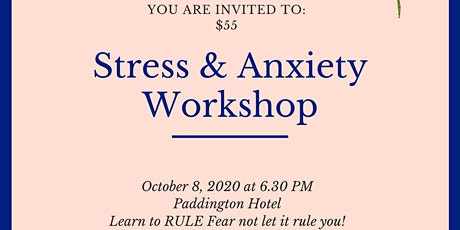 Stress & Anxiety - Fear Busting Workshop tickets