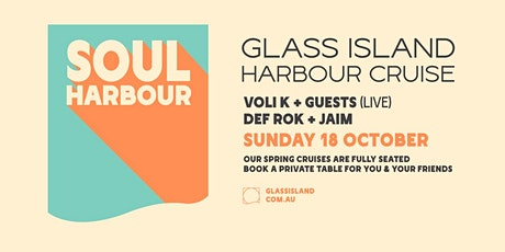 Glass Island pres. Soul Harbour - Sunset Cruise - Sun 18th October tickets