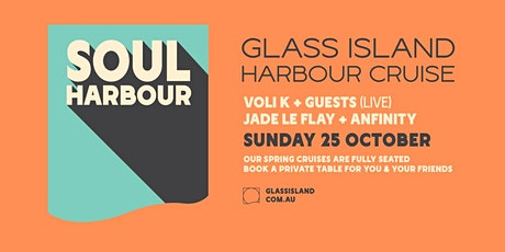 Glass Island pres. Soul Harbour - Sunset Cruise - Sun 25th October tickets
