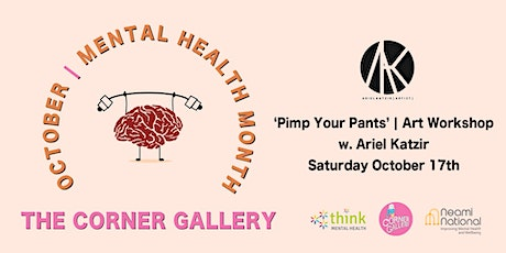 'Pimp Your Pants' Art Workshop with Ariel Katzir tickets