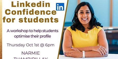 LinkedIn Confidence for Students tickets