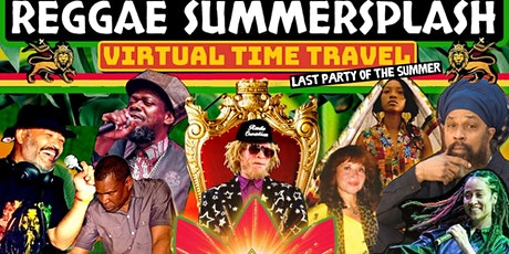 Reggae SummerSplash, A Virtual Time Travel tickets