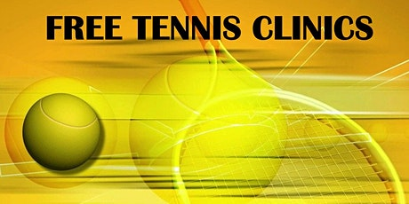 Free Tennis Clinic 1 tickets