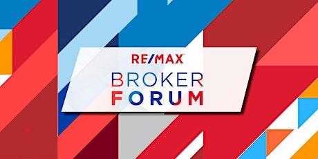 RE/MAX Broker Forum tickets