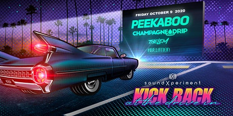 Kick Back at the Drive In! | Peekaboo + Champagne Drip + Thelem + Abelation tickets