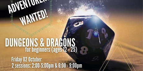 Adventurers wanted! Dungeons & Dragons for beginners tickets