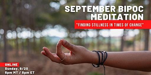 Mindfulness Meditation for People of Color