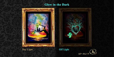 Sip and Paint (Glow in the Dark): Cupid Love (Friday) tickets