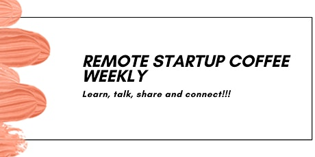 REMOTE: Lean (Startup) Coffee tickets