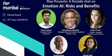 Rise Presents: Fireside chat on Emotion AI: Risks & benefits tickets