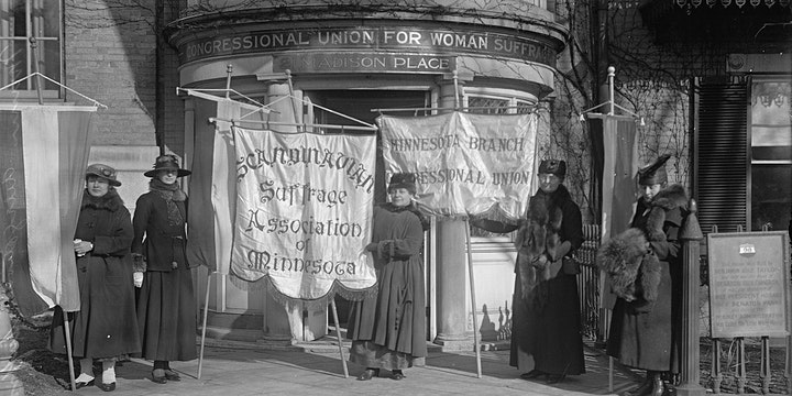 Members Celebration -  Persistence: Continuing the Struggle for Suffrage image