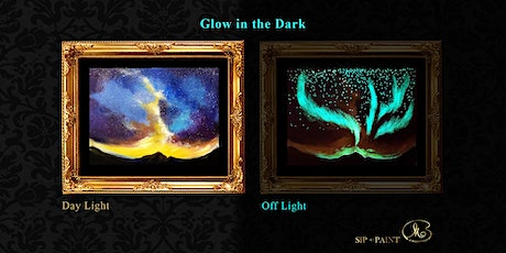 Sip and Paint (Glow in the Dark): Galaxy vs Aurora (Friday) tickets
