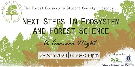Next Steps in Ecosystem and Forest Sciences: A Careers Night tickets