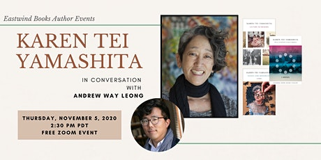 Eastwind Author Events: Karen Tei Yamashita with Andrew Way Leong tickets