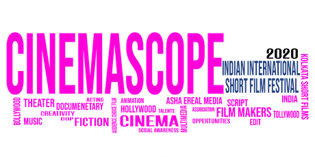 Indian International Short Film Festival CINEMASCOPE AWARDS 2020 billets