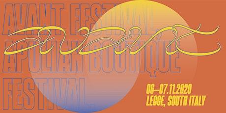 AVANT Festival - Apulian Boutique Music Festival biglietti