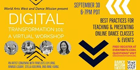 Digital Transformation 101: A virtual workshop tickets