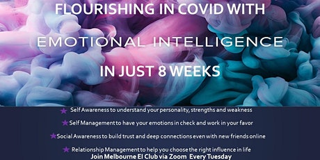Flourishing in  COVID with Emotional Intelligence in Just 8 Weeks tickets