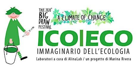 """The Big Draw 2020 con Alinalab """"ICO ECO - Eco di fata biglietti"""