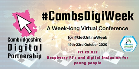 Raspberry Pi's and digital inclusion for young people Part 1. tickets