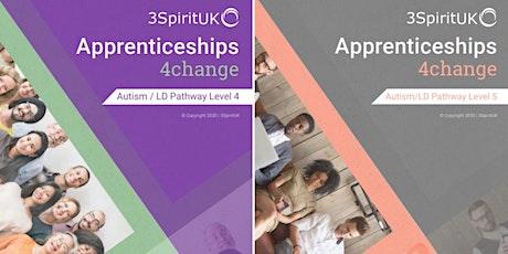 3SpiritUK Level 4 and 5 Autism Apprenticeships (Q&A Event) tickets