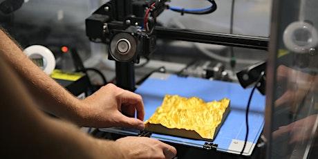 Découverte de l'impression 3D Conférence Diner billets