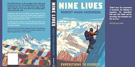 Robert Mads Anderson - 9 Lives - Expeditions To Everest - Online Talk tickets