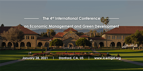 International Conference on Economic Management and Green Development CFP tickets