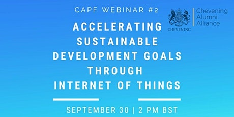 Accelerating Sustainable Development Goals through Internet of Things tickets
