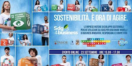 Le imprese motore di sviluppo sostenibile/Webinar biglietti