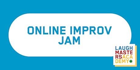 LMA's Online Improv Jam tickets