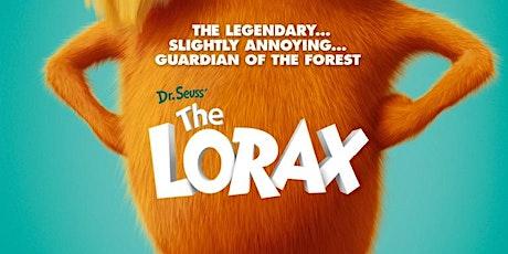Pop up Cinema The Lorax tickets