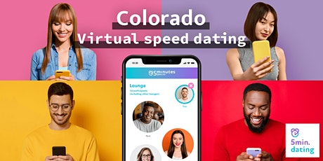 Colorado Virtual Speed Dating for 30s & Over singles | Nov 8 tickets