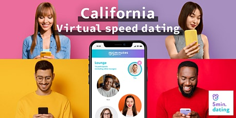 California Virtual Speed Dating for 30s & Over singles | Nov 29 tickets
