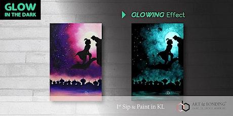 Glow Sip & Paint : Glow - ALADDIN tickets