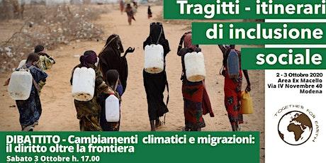 Cambiamenti climatici e migrazioni: il diritto oltre la frontiera biglietti
