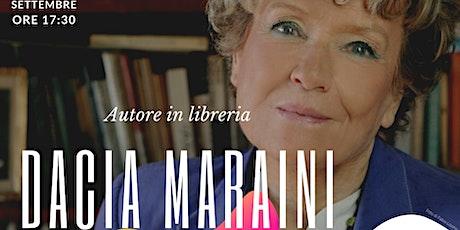 Dacia Maraini | Autore in Libreria biglietti