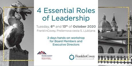4 Essential Roles of Leadership tickets