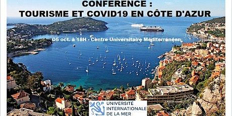 Conférence : Tourisme et Covid19 sur la Côte d'Azur billets