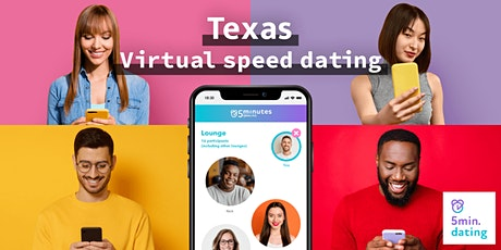 Texas Virtual Speed Dating for 30s & Over singles | Oct 25 tickets
