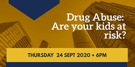 Drug Abuse: Are Your Kids At Risk? tickets