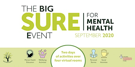 The BIG SURE for Mental Health Event - An Audience With... tickets