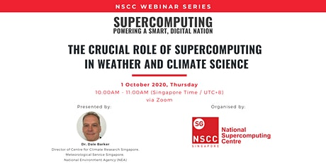 The Crucial Role of Supercomputing in Weather and Climate Science tickets
