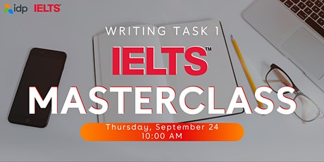 IELTS Masterclass: Writing Task 1Eğitimi tickets