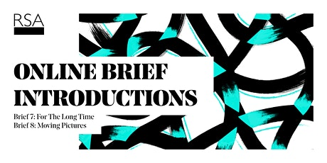 2020-21 RSA Student Design Awards Brief 7 & 8 Introduction tickets