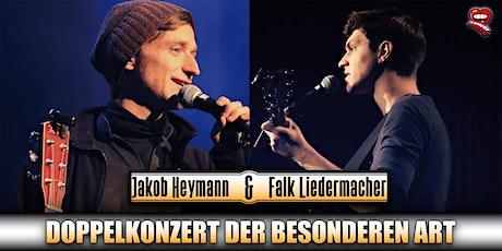 Falk Liedermacher & Jakob Heymann - Doppelkonzert der besonderen Art Tickets
