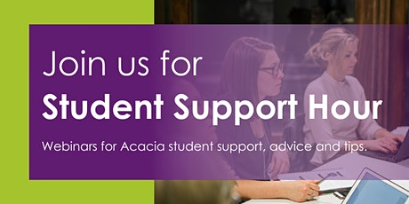 Student Support Hour | Acacia Learning tickets