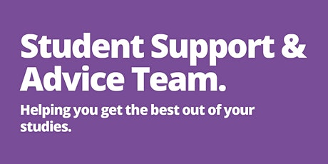 Student Support Officer drop-in (Telephone/ Web) tickets